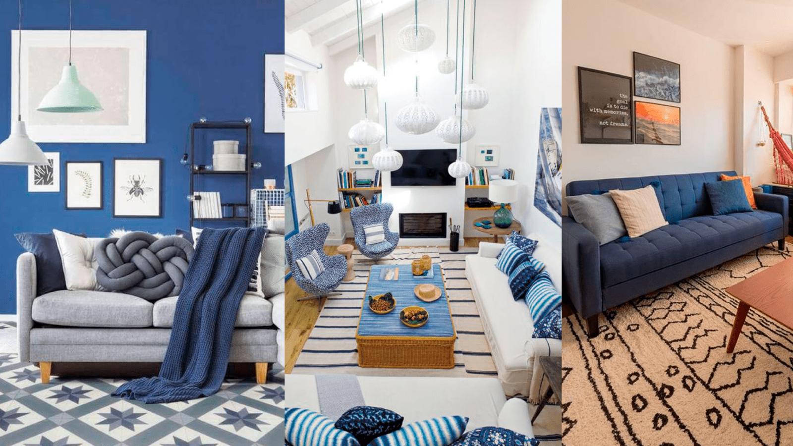 casa decoracao azul